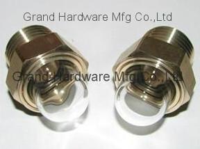 China dome shaped windows,domed sight glass,dome shaped sight glass,brass sight windows,China on sale