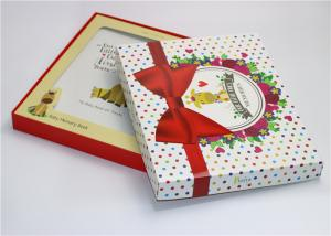 China High Quality Glossy Lamination Baby First Year Memory Book Packaging Box on sale