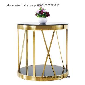 China smart coffee table legs brass stainless steel table base modern design on sale