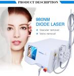 Air Cooling 980 Nm Diode Laser Nail Fungus Removal With Ice Compress Hammer