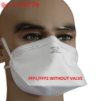 Flat Fold style Art. YC FFP2 NR Without Valve Disposable Mask