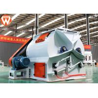 Two Open Doors Animal Food Mixer Machine Granules With No Leakage Less Residue
