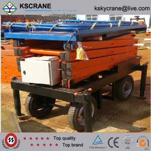 China Best After-sale Service Heavy Duty Hydraulic Scissor Lift Platform For Warehouse on sale
