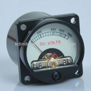 China Panel Meter Warm Back Light Tube Amplifier Audio Voltmeter on sale