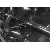 Silicone Rubber Plough Shear Mixer , Stable Running Powder Mixer Machine