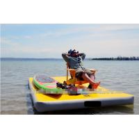 all various sizes inflatable air mat for floating platform for relax