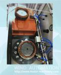 Electric motor generator alternator stator testing machine