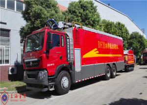 China Max Power 294kw Remote Water Supply System Fire Truck Hose Reel Retraction Speed 2.5 - 3M/S on sale