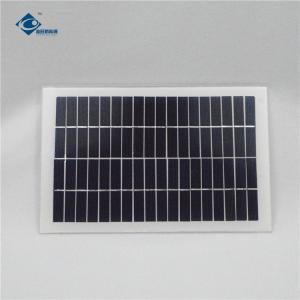 China 5W 18V Aluminum high efficient solar panel ZW-5W-18V Residential solar panel battery charger on sale