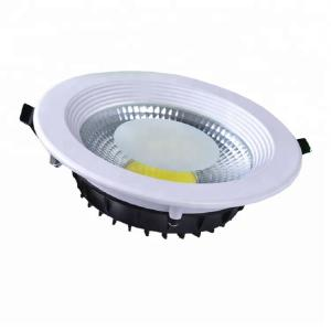 China Home / Supermaket Lighting Recessed Indoor COB LED Downlight With CE Certificate on sale