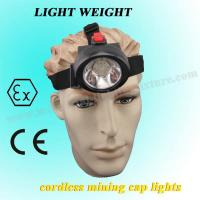 3.7 V Mini Msha Approved Cap Lamps 4000lux 2.8Ah For Construction / Marine