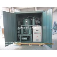China Renew used transformer oil Recycling System |dielectric oil regeneration | oil purification system on sale