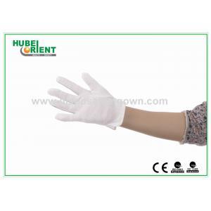 China Gants électrostatiques en nylon de décharge blanche de couleur avec des points de PVC on sale