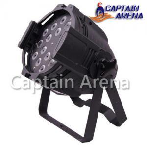 China 18 x 10W 4 in 1 Indoor LED Par Light / RGBW LED Par Can AC100 - 240V 60 Hz 9CH on sale