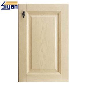 China Shaker Style Kitchen Cabinet Doors Oak Wood Grain , Replacement Cupboard Doors on sale