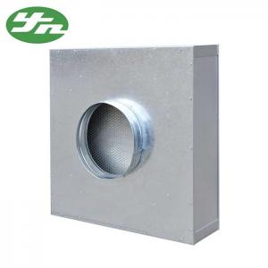 China Disposable Clean Room Hepa Filter Box , Hepa Filter Ceiling Module Round Duct Interface on sale
