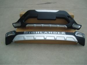 China Toyota Highlander  Front and rear bumper protector, side step, fog lamp, roof rack etc. on sale