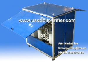 China Purificador de óleo móvel do transformador, purificação de óleo da isolação com dossel à prova de intempéries on sale
