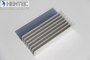 China 6060 6063  6061 extruded aluminum profiles with Cutting / Drilling / Machining on sale