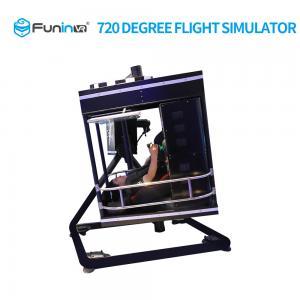 China Powerful VR Flight Simulator 3D Twist 700 Kgs Gross Weight 1 Year Warranty on sale