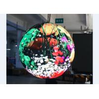 Sphere Led Screen P4 Globe LED Display with 360° Viewing Angle