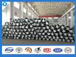 70FT 5mm Thick Q420 Galvanized and Black Tar Painted Electric Steel Poles