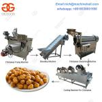 Chickpeas Processing Machine/Chickpeas Machine Line Equipment/Frying Green Peas Line