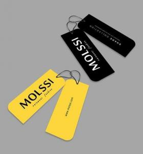 China Hangtag,Labels,Paper hangtag for clothes label, high end lady dress hangtags, on sale