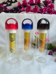 China BPA free fruit infuser water bottle on sale