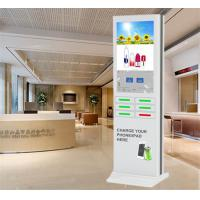 Android Free Charge Floor Stand Mobile Phone Charging Lockers Box Machine