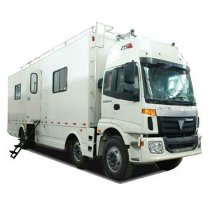 China FOTON  6x2 Outdoor Mobile Camping Truck With Living Room and Kitchen on sale
