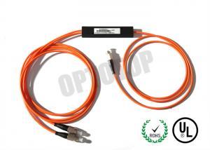 China 1 * 2 3.0 mm PM Fiber Coupler Single Mode 1550 nm Wavelength For CATV / FTTH on sale
