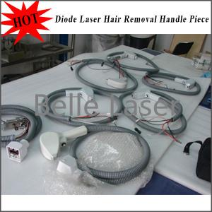 China 808nm Diode Laser Hair Removal Handle Piece on sale