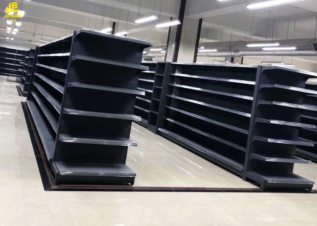 Plain Buckel Back Board Supermarket Steel Racks
