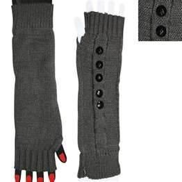 China Fashion acrylic fibers Winter Arm Warmer Fingerless Long Gloves for women on sale