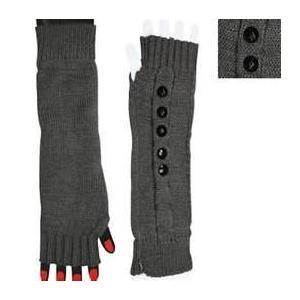 China Fashion acrylic fibers Winter Arm Warmer Fingerless Long Gloves for women on sale