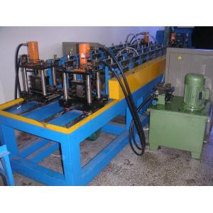 China Metal Cold Roll Forming Process Totally Automatic Stud And Track Roll Forming Machine on sale