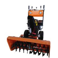 Multi Functional Hand Held Snow Sweeper 15HP For Street Cleaning