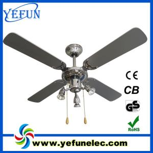 China Decorative Ceiling Fan YF42-4C3L(N) on sale