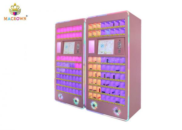 Fun Challenge Coin Operated Game Machine / Lipstick Vending