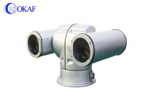 China Thermal Imaging Long Range PTZ IP CameraMountain Monitoring Day / Night Vision on sale