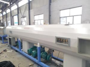 China pe ppr Plastic Pipe Extrusion Line / SJ90 Extruder pe Pipe Production Line on sale