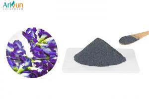 China Beautiful Water Solution Blue Pea Flower Powder Non - Polluting Sulfur Free on sale