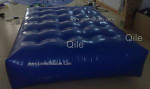 China Durable PVC tarpaulin Inflatable Water Sport bridge uesd in the lake and seashore on sale
