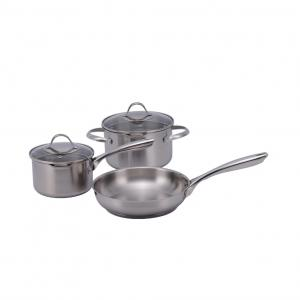 5 Pcs Stainless Steel Kitchen Queen Cookware Set 18 24 Cm