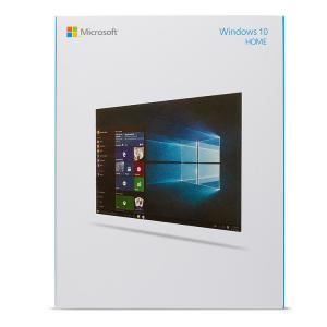 China FPP License Key Code Card Microsoft Windows 10 Home Retail Box Computer System Software on sale