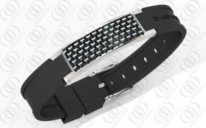 China OEM/ODM negativos lustrados do poder do íon dos braceletes magnéticos Titanium on sale