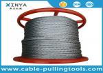 Anti corda de fio trançado galvanizada de torção que gerencie não 1000 medidores pelo carretel