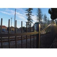 China Australia Garrison Fencing Steel Tubular Tube 40mm wall Thick 1.6mm Rails Upright 25mm x 25mm x 1.2mm on sale
