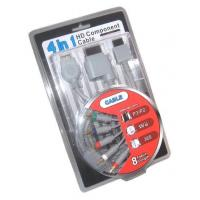 4 In 1 Hd Component Cable For Xbox360,wii,ps3,ps2